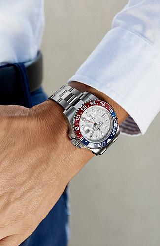 นาฬิกา Rolex ผู้ชาย - Rolex GMT Master 2 at NGG Timepieces Udonthani