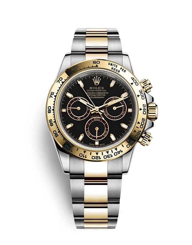 นาฬิกา Rolex Cosmograph Daytona - Oyster, 40มม., Oystersteel และทองคำ | 116503