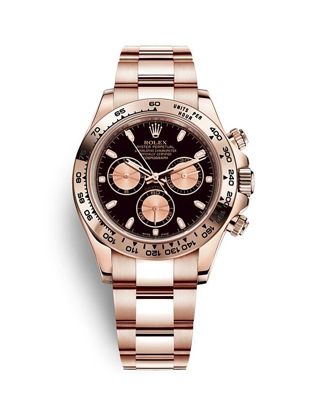 นาฬิกา Rolex Cosmograph Daytona - Oyster, 40มม., เอเวอร์โรสโกลด์ | 116505