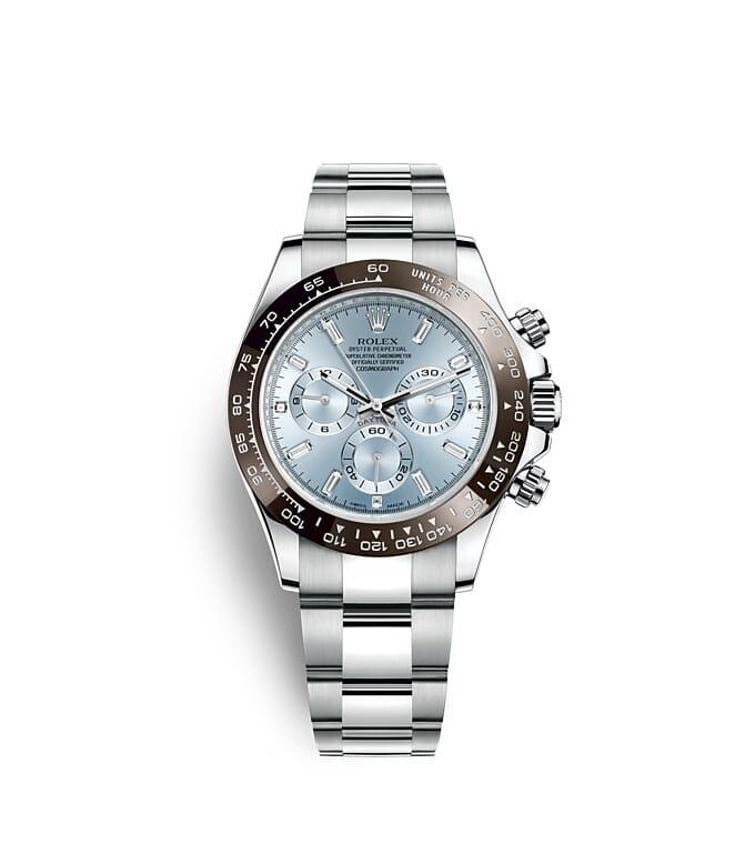 นาฬิกา Rolex Cosmograph Daytona - Oyster, 40มม., แพลทินัม | 116506