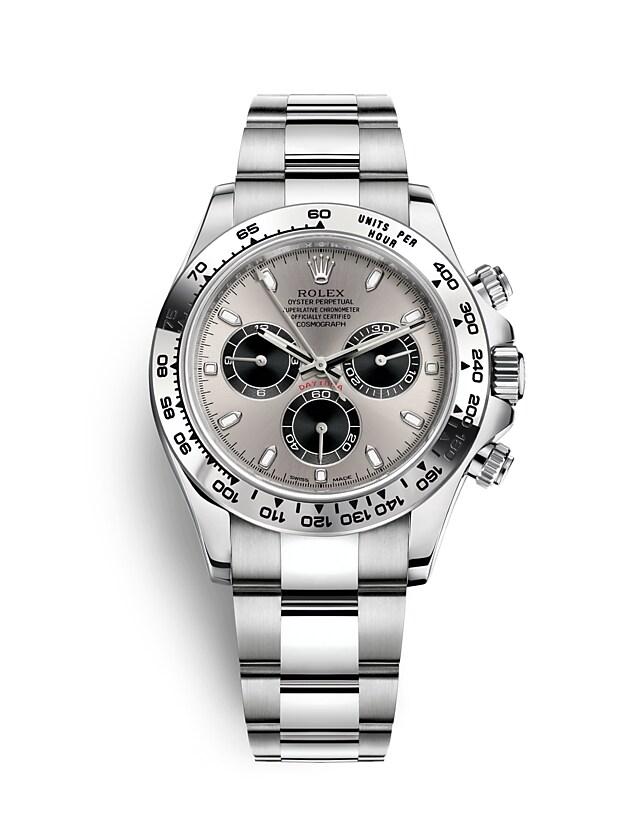 นาฬิกา Rolex Cosmograph Daytona - Oyster, 40 มม., ทองคำขาว 116509