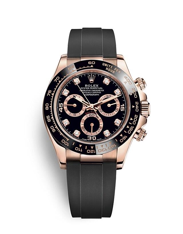 นาฬิกา Rolex Cosmograph Daytona - Oyster, 40มม., เอเวอร์โรสโกลด์ | 116515LN