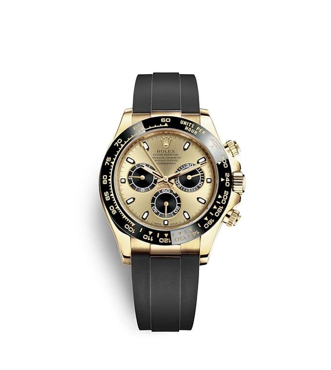 นาฬิกา Rolex Cosmograph Daytona - Oyster, 40มม., ทองคำ | 116518LN