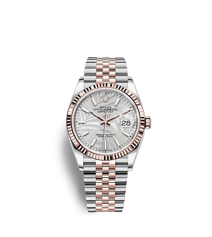 นาฬิกา Rolex Datejust 36 - Oyster, 36 มม., Oystersteel และเอเวอร์โรสโกลด์