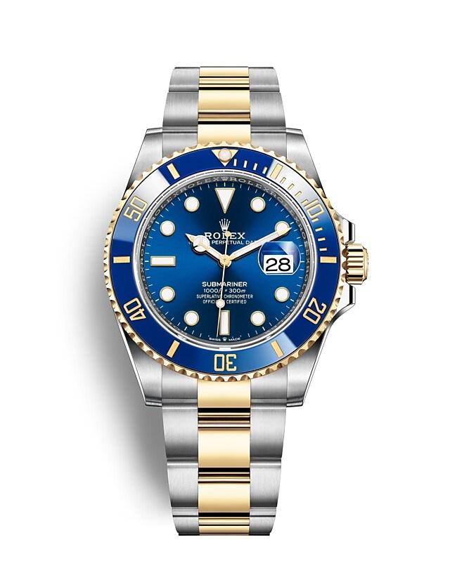 นาฬิกา Rolex SUBMARINER DATE - Oyster, 41 มม., Oystersteel และทองคำ