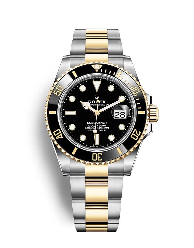 นาฬิกา Rolex SUBMARINER DATE - Oyster, 41 มม., Oystersteel และทองคำ | 126613LN