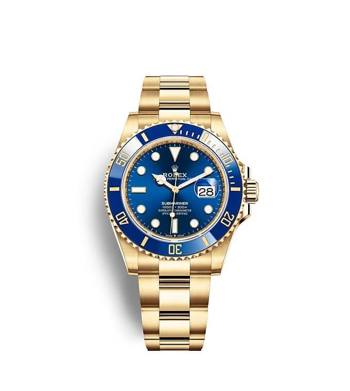 นาฬิกา Rolex SUBMARINER DATE - Oyster, 41 มม., ทองคำ