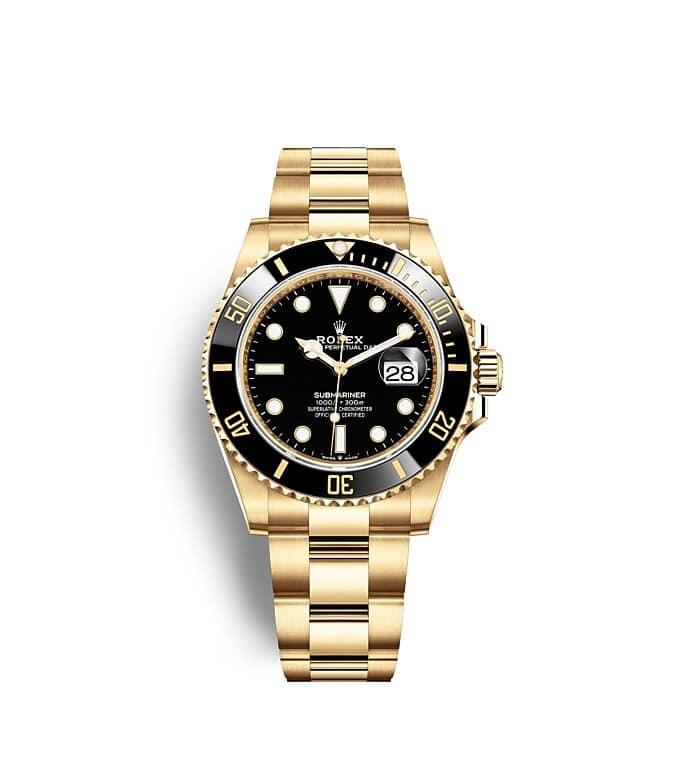นาฬิกา Rolex SUBMARINER DATE - Oyster, 41 มม., ทองคำ | 126618LN