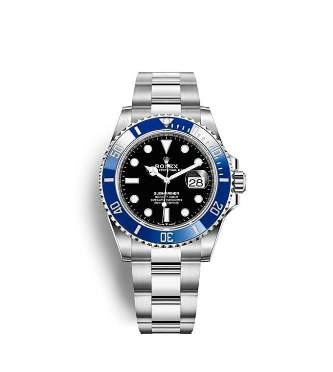 นาฬิกา Rolex SUBMARINER DATE - Oyster, 41 มม., ทองคำขาว