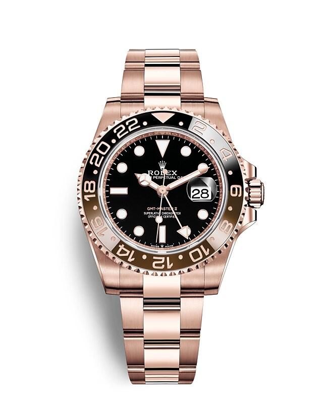 นาฬิกาRolex GMT-Master II - Oyster, 40มม., เอเวอร์โรสโกลด์ | 126715CHNR