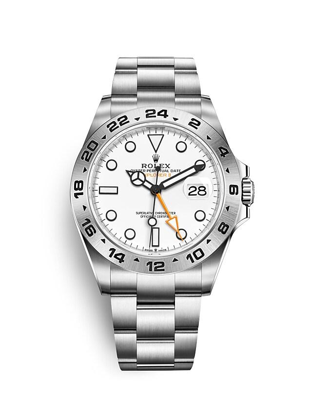 นาฬิกา Rolex Explorer | Oyster, 42 มม., Oystersteel หน้าปัดสีขาว | 226570