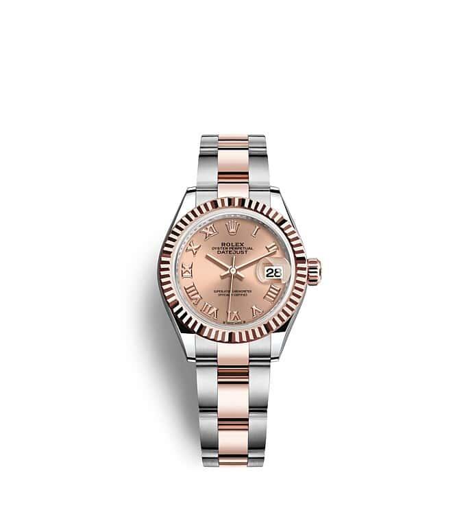 นาฬิกา Rolex Lady-Datejust - Oyster, 28 มม., Oystersteel และเอเวอร์โรสโกลด์ หน้าปัดสีชมพูกุหลาบ   279171