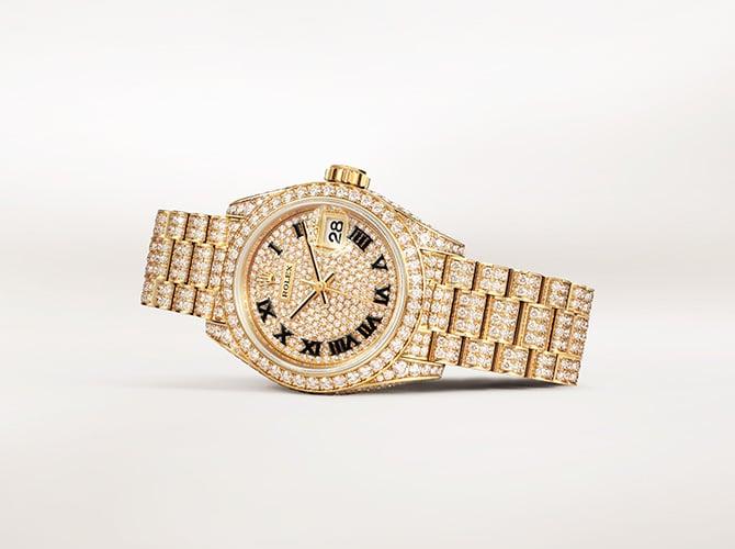 นาฬิกาข้อมือ rolex 2021 - Rolex Lady-Datejust at NGG อุดรธานี